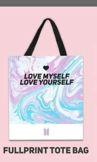 Oppabingsoo bts totebag ( ready stock)