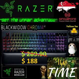 "Razer BlackWidow Chroma V2 ""Yellow Switch""""...,  ""Hurry Grab the Offer Today.. while Stock Last..."" It is time.."" 15 July last day"""