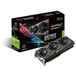 GEFORCE® GTX GTX 1070 ASUS STRIX OC EDITION