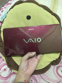 Sony vaio mini laptop