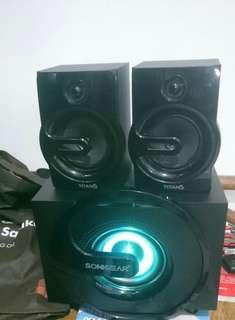 Speaker head unit titans