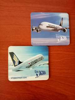 Singapore Airlines A380 Fridge Magnets  $3 for Qty  2