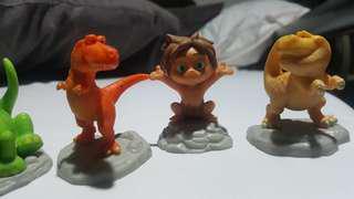 McDo Good Dinosaur Toy Figures