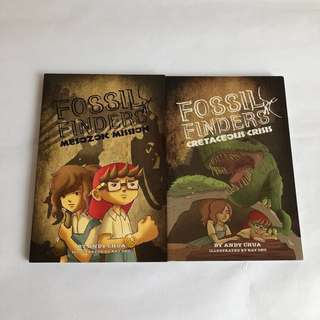 Fossil Finders books (bundle of two)