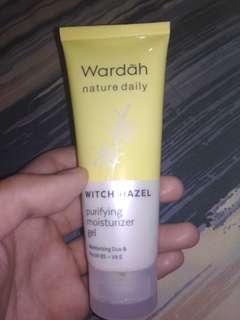 Wardah purifying moisturizer gel