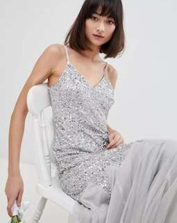 Maya Deluxe Sequin Mermaid Dress/ Party/ Prom/ Bridesmaid dress