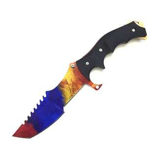 CSGO Camping Tactical High Hardness Straight Knife CSGO户外战术刀高硬度直刀#543
