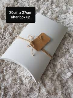 🚚 Gift box - Pillow box ideal for clothing
