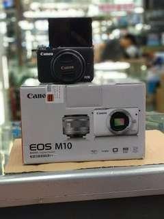 Canon M10 Bisa Di Cicil Tanpa Kartu Kredit DP Murah