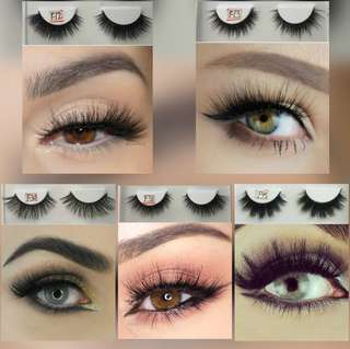 💄 3D Handmade Mink Eyelashes