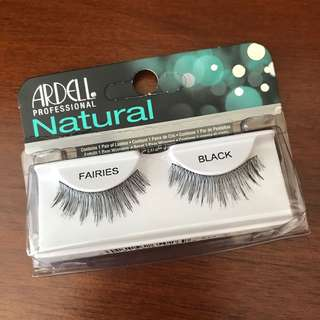 🚚 Ardell professional natural FAIRIES BLACK FALSE EYELASHES