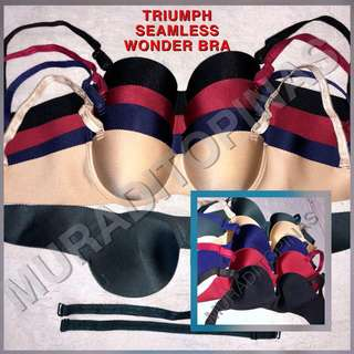 Triumph Overruns Wonder Bra
