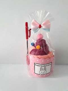 Happy teacher's day cup cake set
