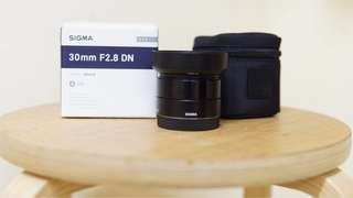 Sigma 30mm f2.8 art lens