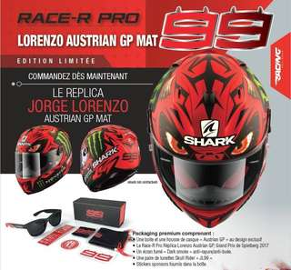 Shark Race R Pro (Replica Lorenzo Austrian GP Mat)
