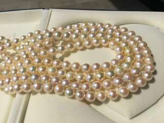 Akoya 海水珍珠項鍊