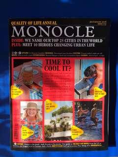 Monocle Magazine: JUL/AUG 2018