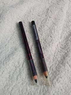 Maybelline eye crayon liner pensil garis mata black hitam