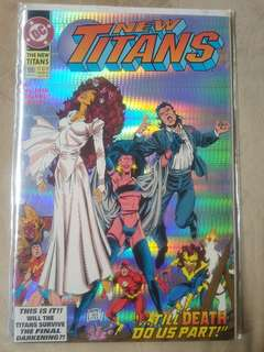 New Teen Titans (1984 2nd Series) New Titans #100