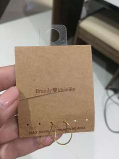 Preloved brandy melville earring