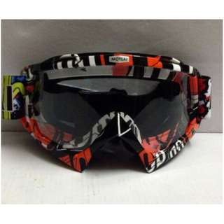 ★ MOTOVAN GOGGLES ★Motorcycle helmet Clear lens Goggles ★ e-scooter ★ downhill ★ scrambler ★off road ★ dirt ★ motocross ★ bike racing ★ cycling ★ RED ★ New arrivals