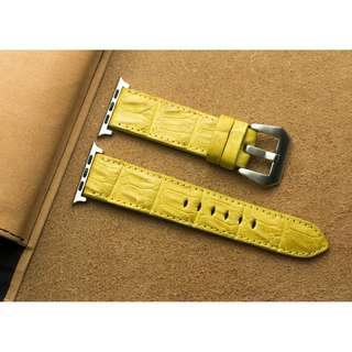 🚚 Apple watch strap / band Crocodile leather, Apple watch strap / band 42mm, Apple watch strap / band 38mm, Apple watch strap / band men, Apple watch strap / band leather