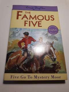 Enid Blyton Famous Five: Five Go to Mystery Moor