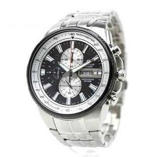 EDIFICE BLACK BUSINESS QUARTZ WATCH