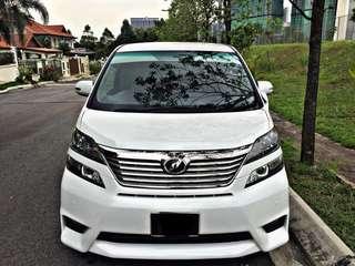 Toyota Vellfire 2.4cc SAMBUNG BAYAR