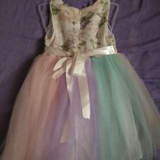 Tutu for unicorn party dress