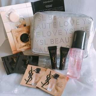『超值😍YSL 1 set 9件連化妝袋』Makeup Set YSL化妝品套裝