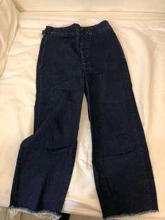 ASOS wide leg denim culottes