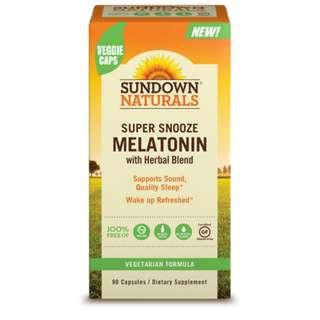 Super Snooze Melatonin, 90 caps