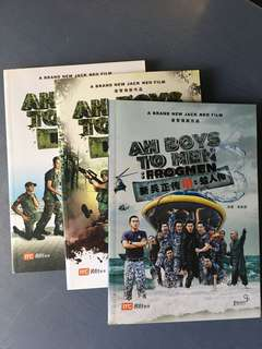 Ah Boys To Men (3 books)