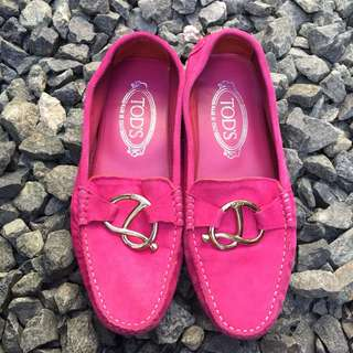 Tods Pink Shoes