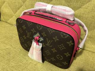 Saintonge handbag shoulder bag 桃紅色手袋 單肩袋 lv louis vuitton 款