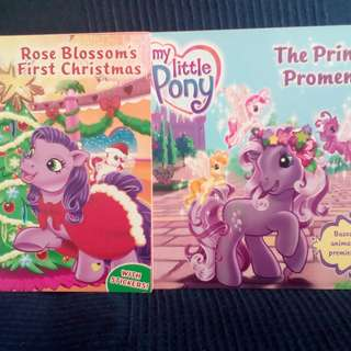 My Little Pony The Princess Promenade  Rose Blossom's First Christmas