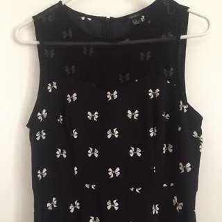 Forever 21 Bow Print Dress
