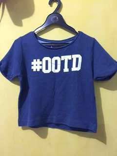 #OOTD croptee
