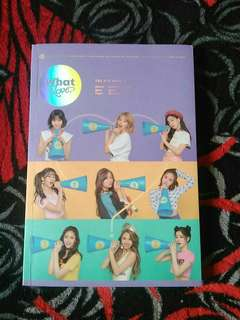 WTS TWICE WHAT IS LOVE?