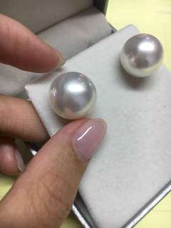 15mm 南洋珍珠耳環 South sea pearls earring