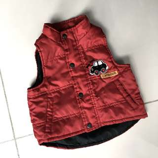 Baby windproof vest jacket
