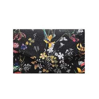 歐美 時裝 潮流 印花手拿包大容量包中包多卡位 銀包 信封包