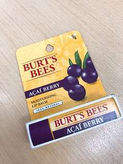🚚 BURT'S BEES巴西果莓護唇膏🇧🇷