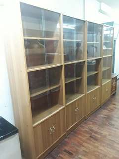Bookcase /Cabinet glass