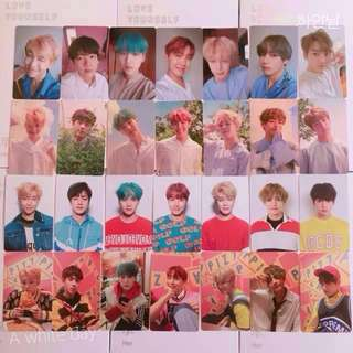 [FEW SLOTS REMAINING] BTS Love Yourself: Her Official (DNA) Photocards / Photocard / Pc