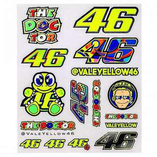 VR46 Big Stickers