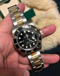 勞力士潛航者型系列116613-LN-97203黑盤腕表