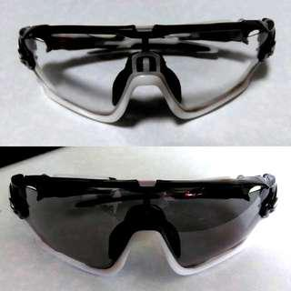 [NEW] Transition/Photochromic Oakley Jawbreaker Replacement Lens Cycling Sunglasses For Road and Mountain Biking