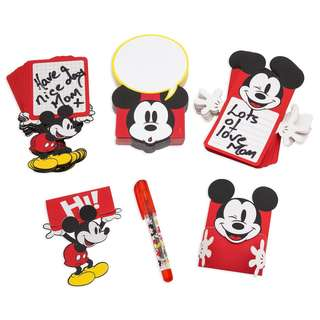 Mickey Mouse Lunch Note Set - Disney Eats